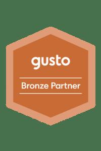 Gusto Bronze Partner Badge
